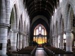 The lovely nave. (Photos are from Wiki because mine turned out very dark.)